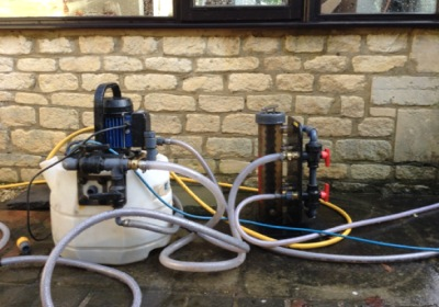 Central Heating power flushing